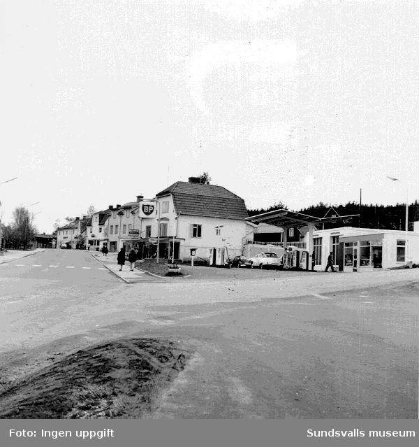 BP:s bensinstation i Vivsta, Timrå.
