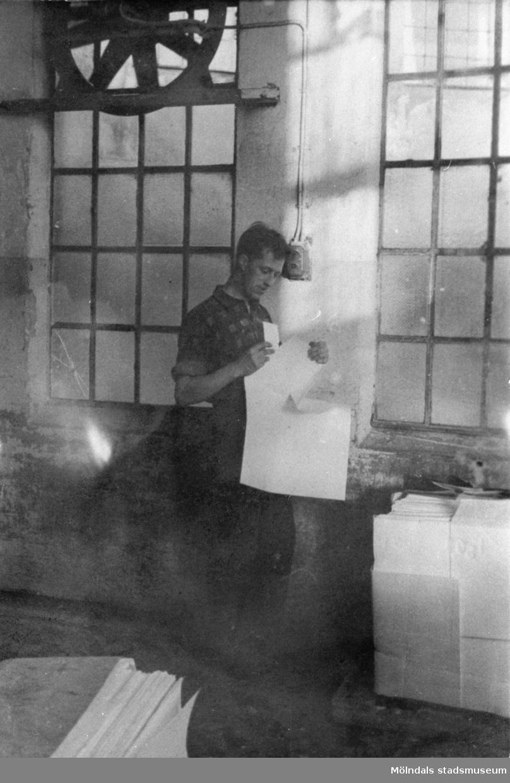 10:ans holländeri på Papyrus i Mölndal på tidigt 1960-tal.