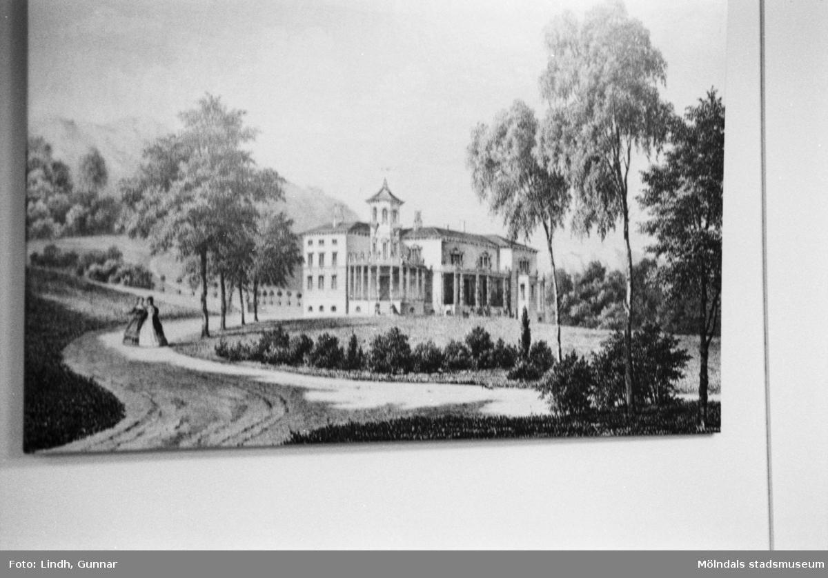 Överås vid Danska vägen i Göteborg. Från början sommarbostad åt en Göteborgsfamilj, senare Metodistkyrkans teologiska seminarium.