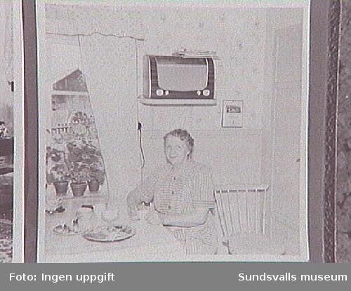 """""""Dagmars kök i Tälnbäcken"""". Dagmar Johanna Johansson og Andersson."""