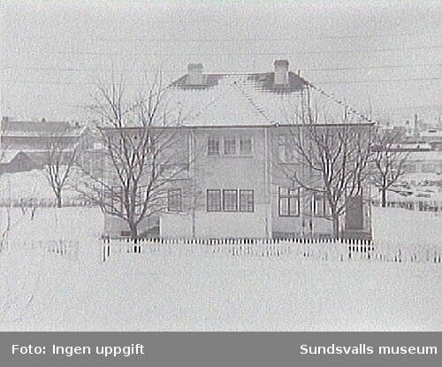 Villagatan 16.  Tuberkulossjukstuga  Nu: förskola