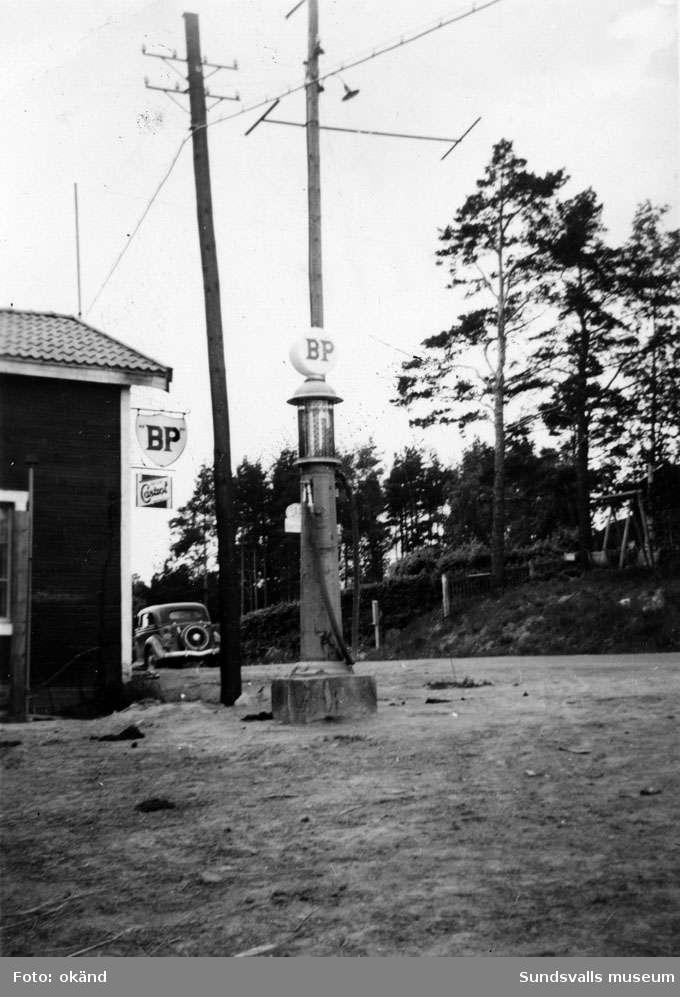 BP-stationen Fränsta, Ånge.