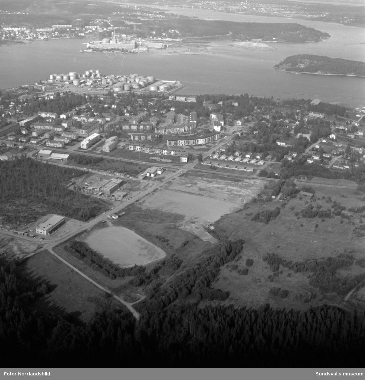 Flygfoton över Skönsmon.