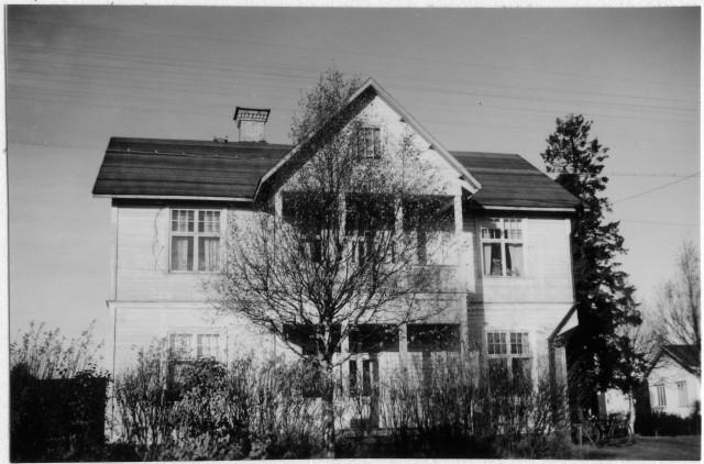Sundsvalls postområde. Sörberge posstation, exteriör.