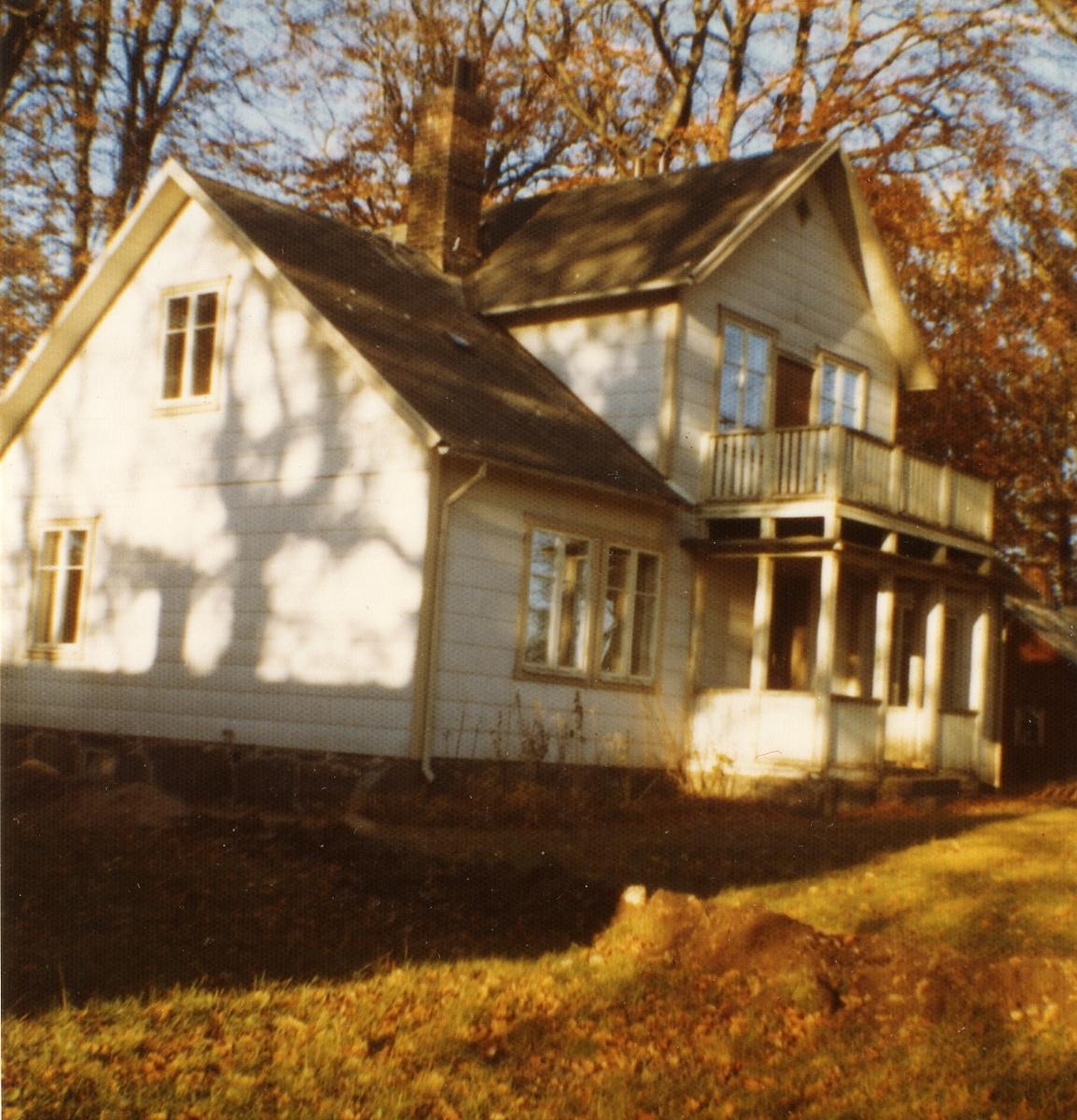 Poststationen Sjöholmen var inrymd i detta hus från den 1 augusti 1918 till 1 november 1933.