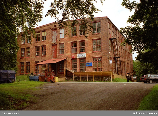 Fabriken från sydväst. Annestorp 3:30.