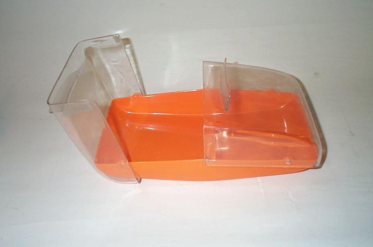 Form: Rektangulert med to vippelok