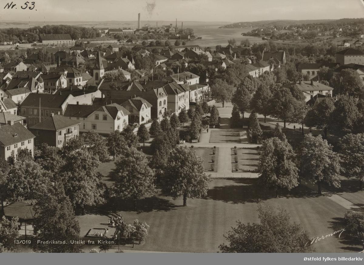 oversiktsbilde, Kirkeparken, bolighus, Øra, bibliotek,