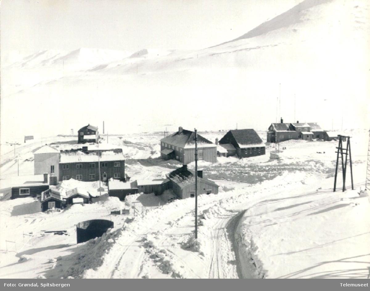 Radiostasjoner  vinter