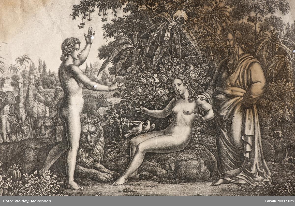 Adam og Eva.