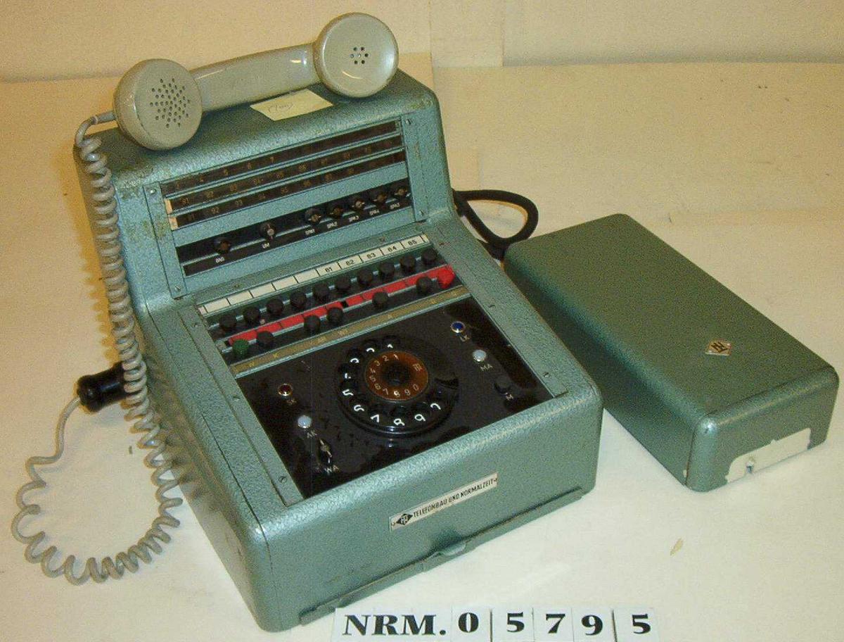 Telefonsentral Bruksanvisning datert 16.12.53