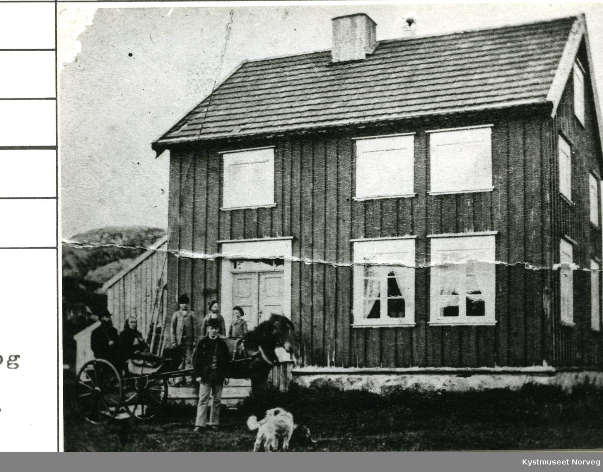 Rørvik, gamle lensmannsgården