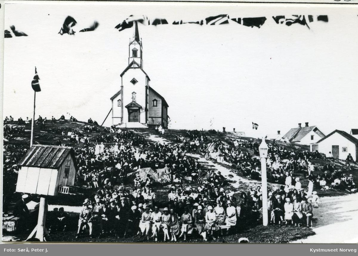 Rørvik, musikkstevne ved Berggården