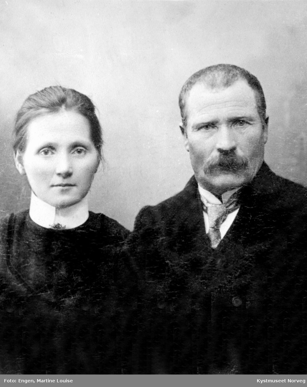Portrett av ukjent par