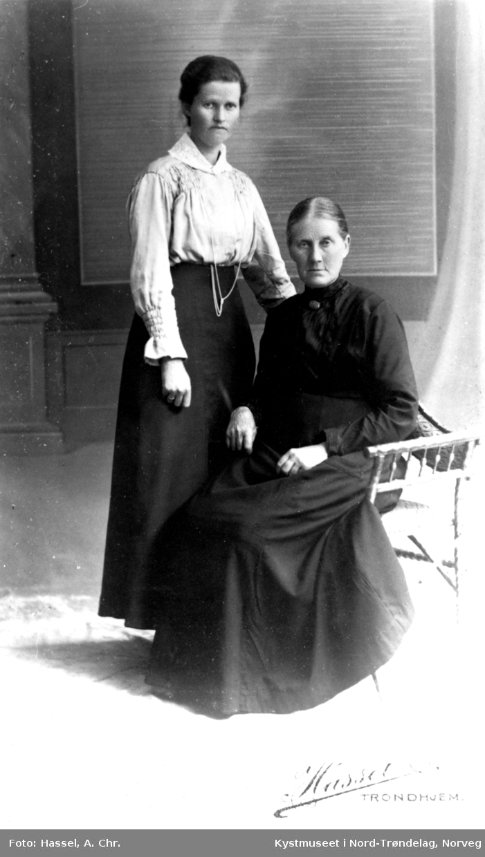Otilie Benjaminsen og Alette Berg Andreasdatter Hunnestad