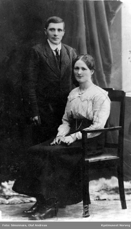 Karl Kråkøy og Marie Jørgensdatter