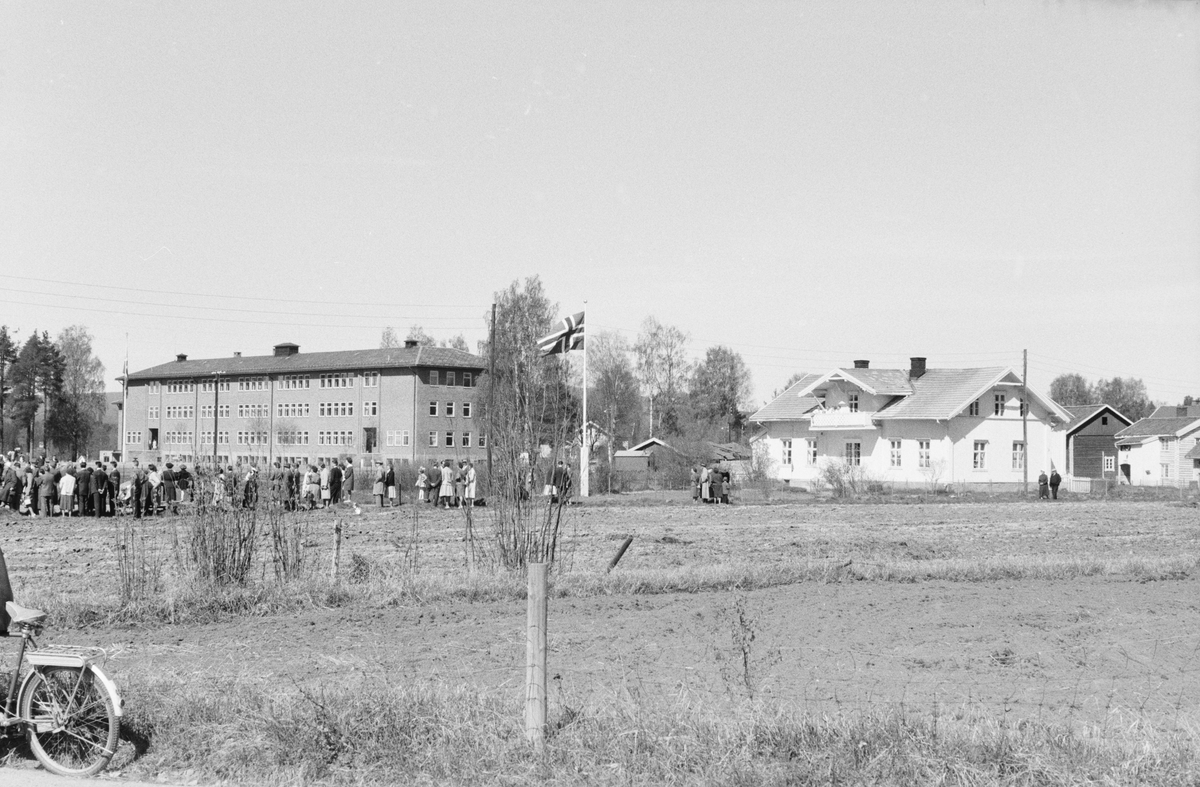 17. mai. Elverum.  1962. Nye Folkvang, Nysted.