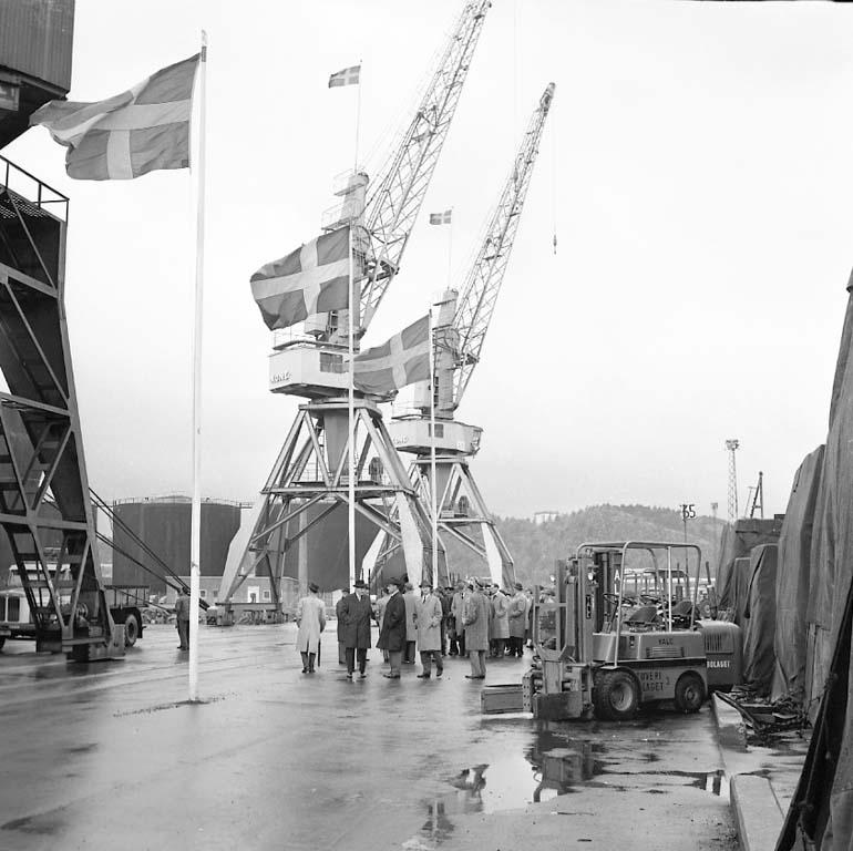 Sjöfartsexperter i Uddevalla hamn
