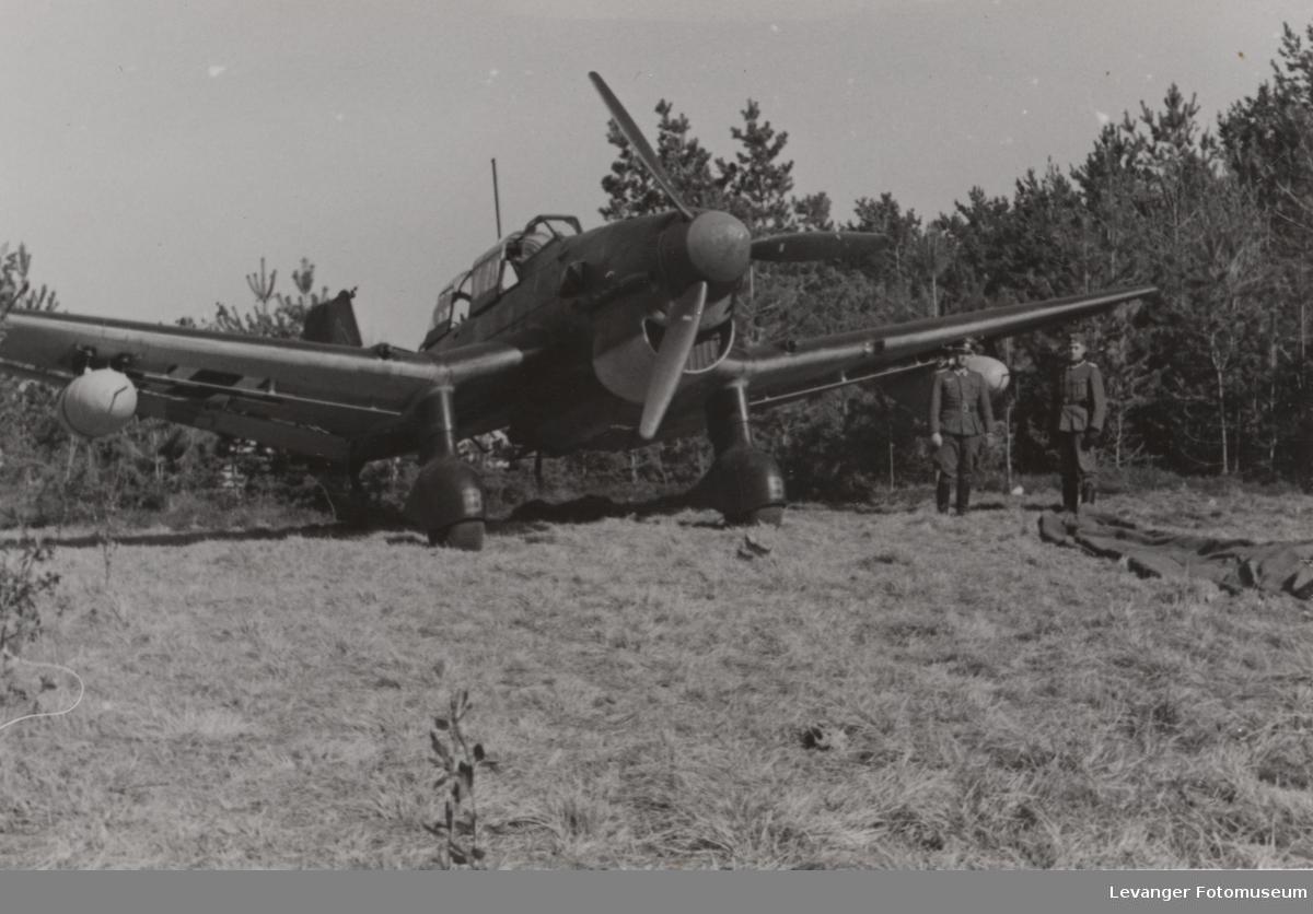 Junkers 87R Stuka, muiligens på Værnes.