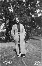 Hembygdsföreningen Njudung  Kvarndammen 1933-08-13