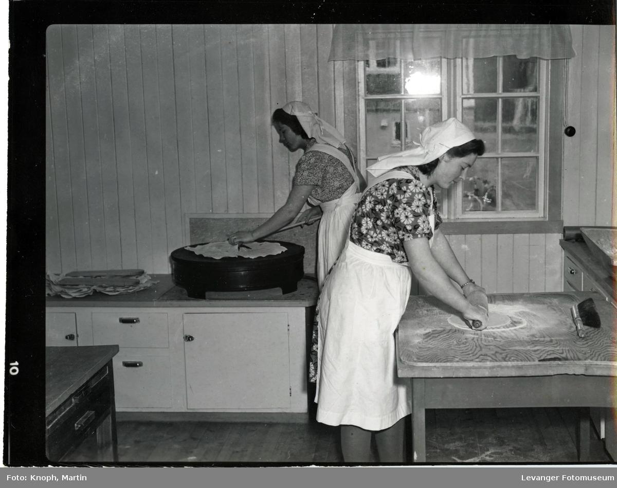 Husstellkurs på Vinje skole i Snåsa  II