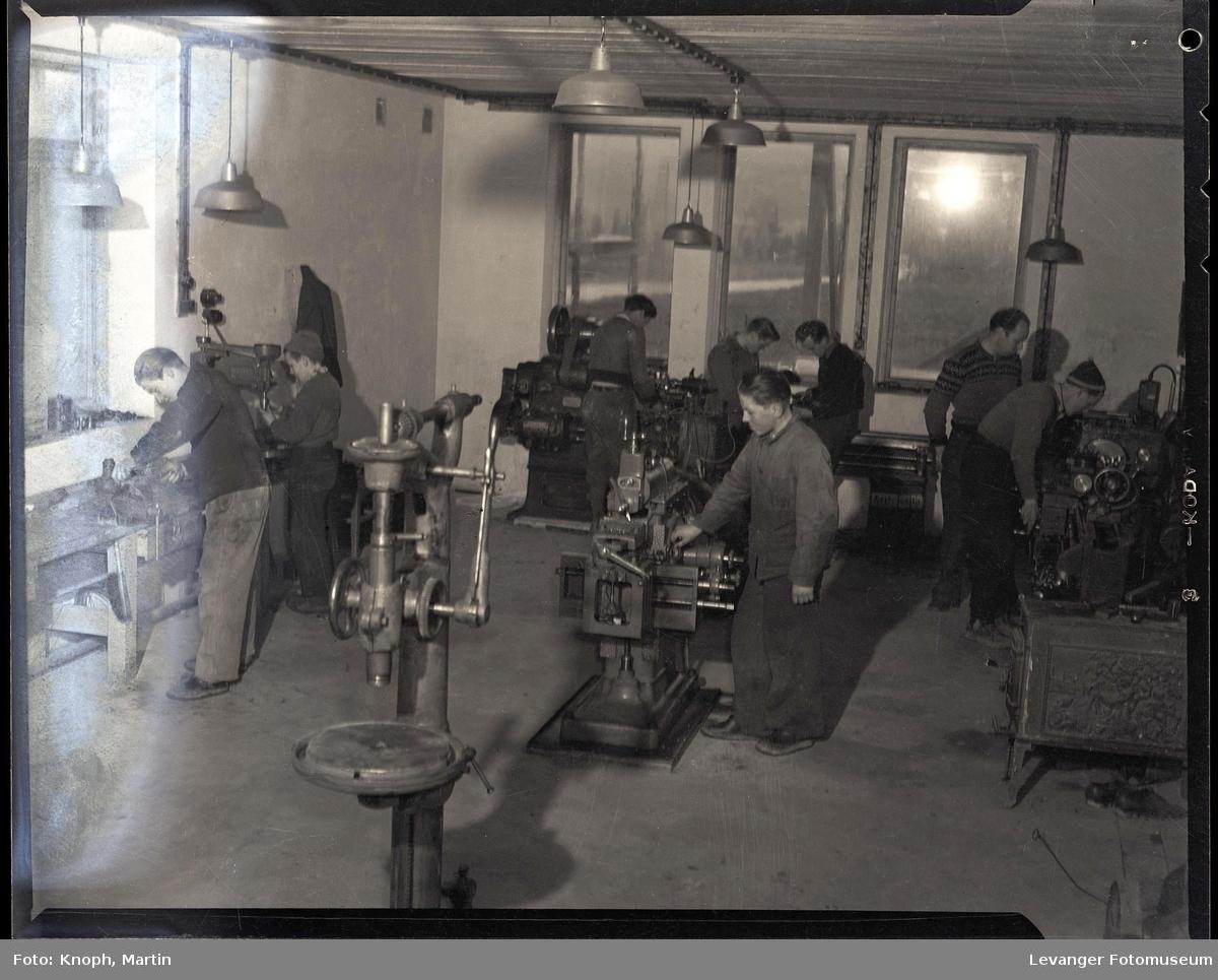 Mekanisk verksted ved Inntrøndelag Yrkesskole