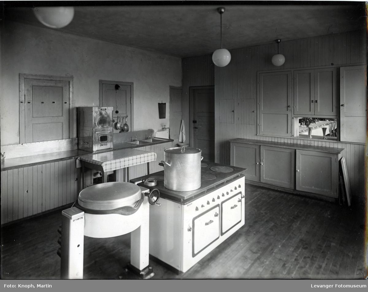 Kjøkkenet ved Inntrøndelag Yrkesskole