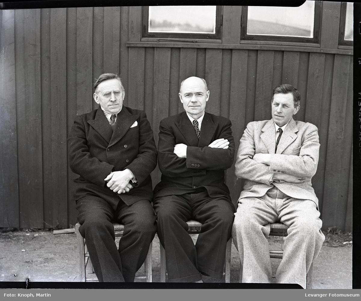 Tre menn med tilknytning til Trana Tegelverk