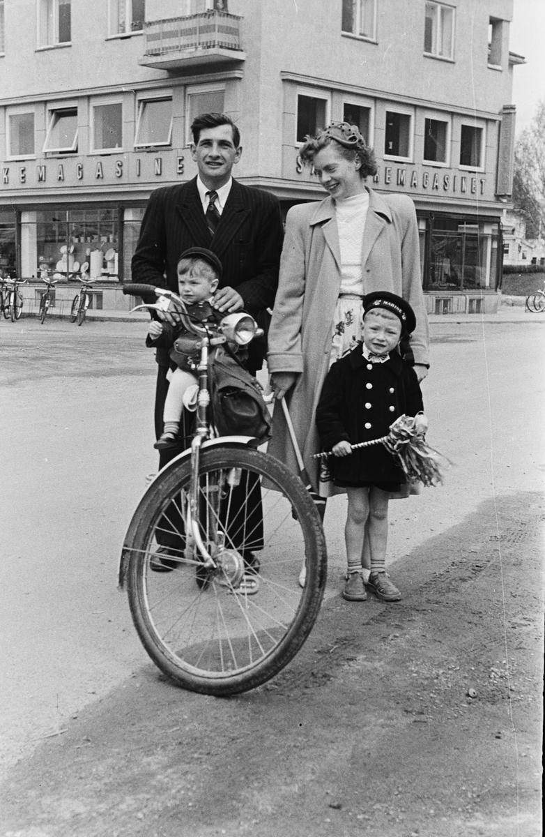 17. mai. Elverum. 1953.