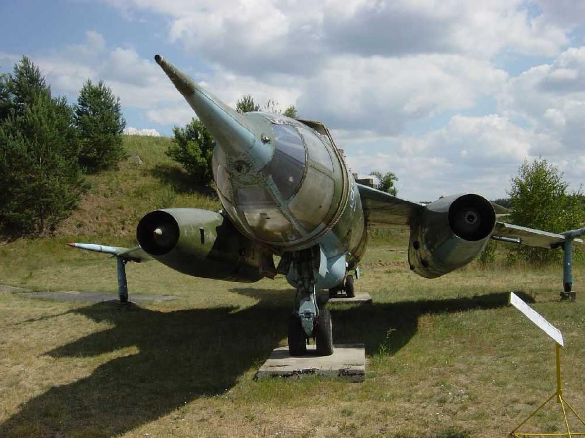 """Ett fly på bakken, Sukhoi """"Flagon-A"""""""
