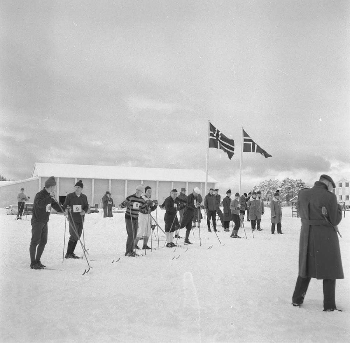 Reportasje fra LKN-mesterskapet på ski 1965.