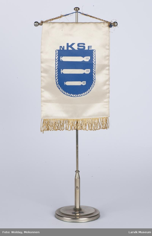 Bordflagg m. stang og fot