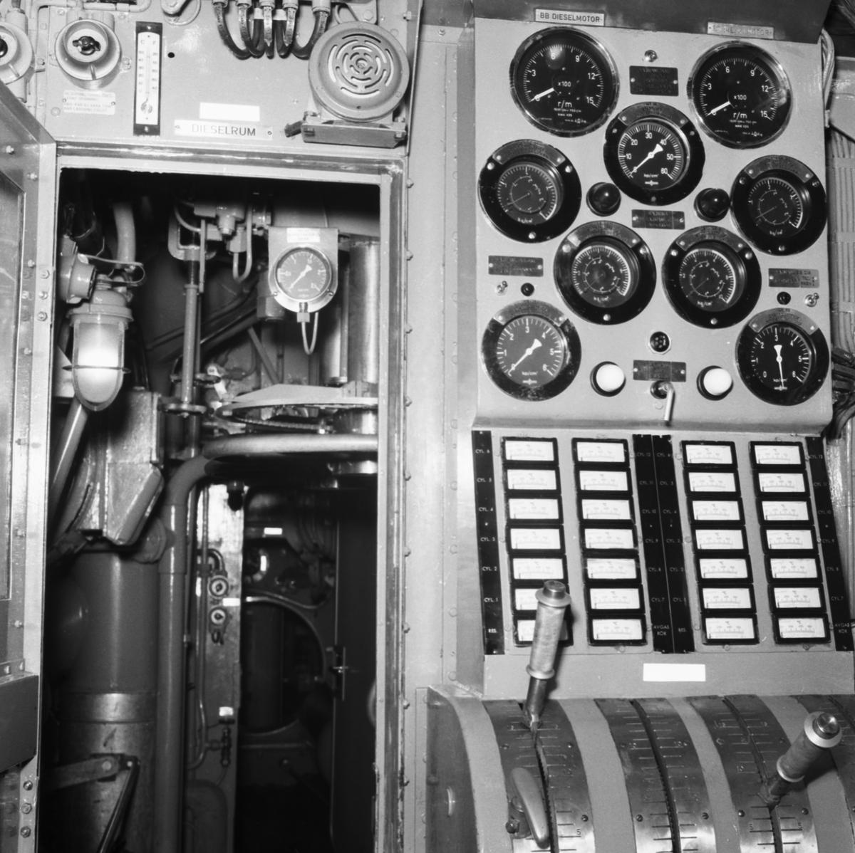 Fartyg: DRAKEN                          Övrigt: Mörkermarkering, ubåten Draken