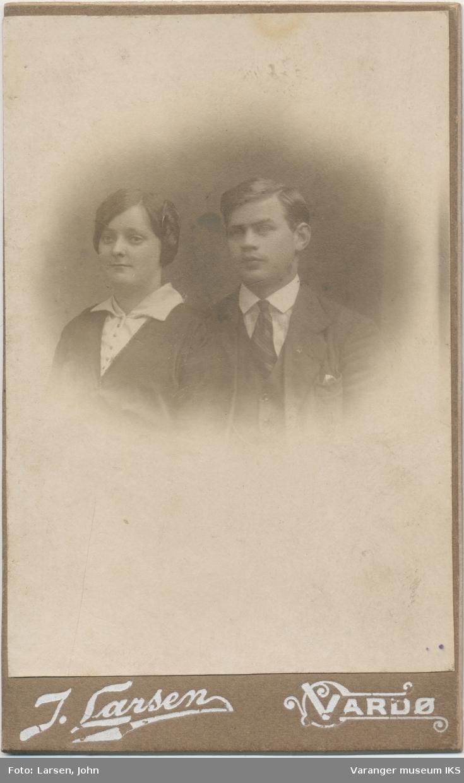 Dobbeltportrett, Ingrid og Thorleif Isaksen