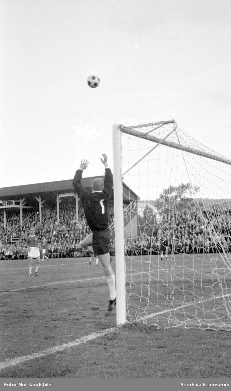 Fotboll, GIF Sundsvall-Örebro.