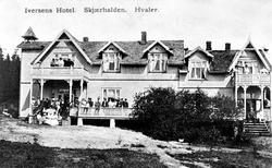 Iversens Hotel. Skjærhalden. Hvaler.