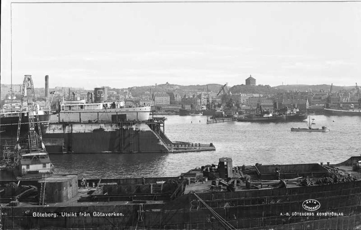 Utsikt från Götaverken.