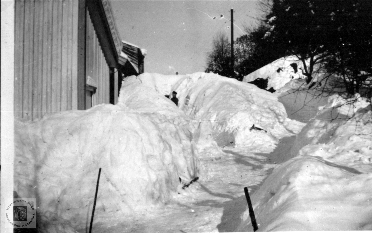 Snøvinter på Høye