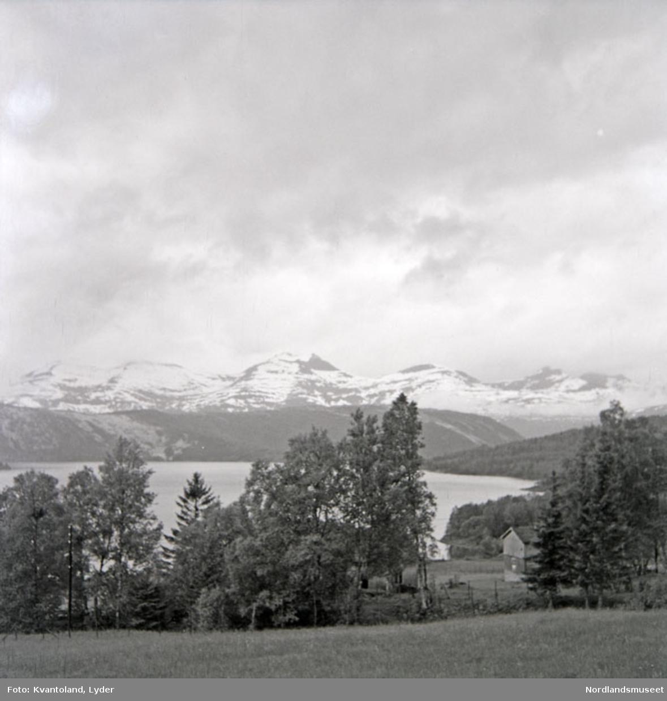 Kvantolands protokoll: Landskap fra Sagvassdalen. Hamarøy