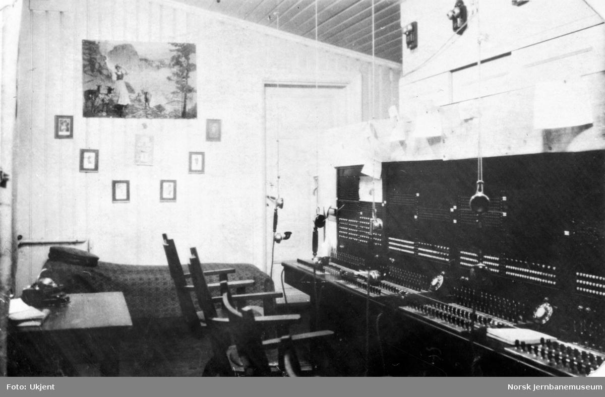 Telefonsentral - trolig NSBs i Oslo