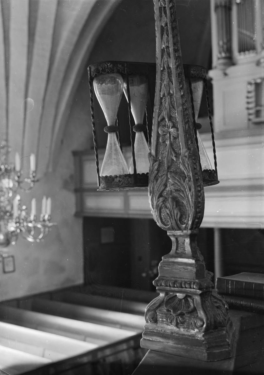 Timglas i Hökhuvuds kyrka, Hökhuvuds socken, Uppland