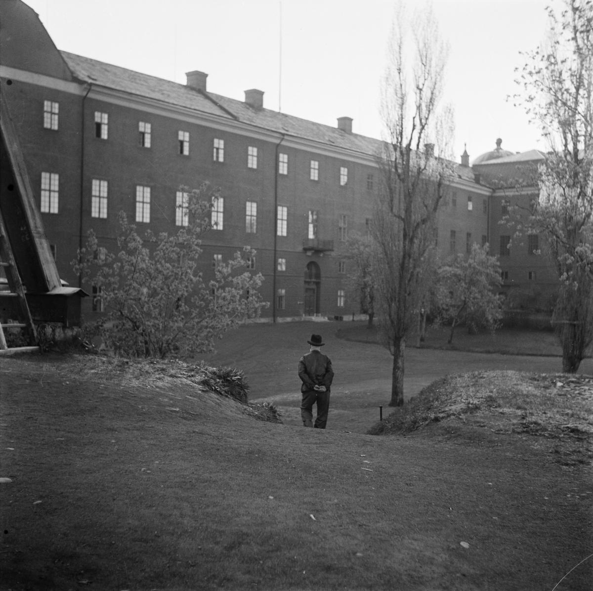 Uppsala slott, Slottsbacken, Uppsala