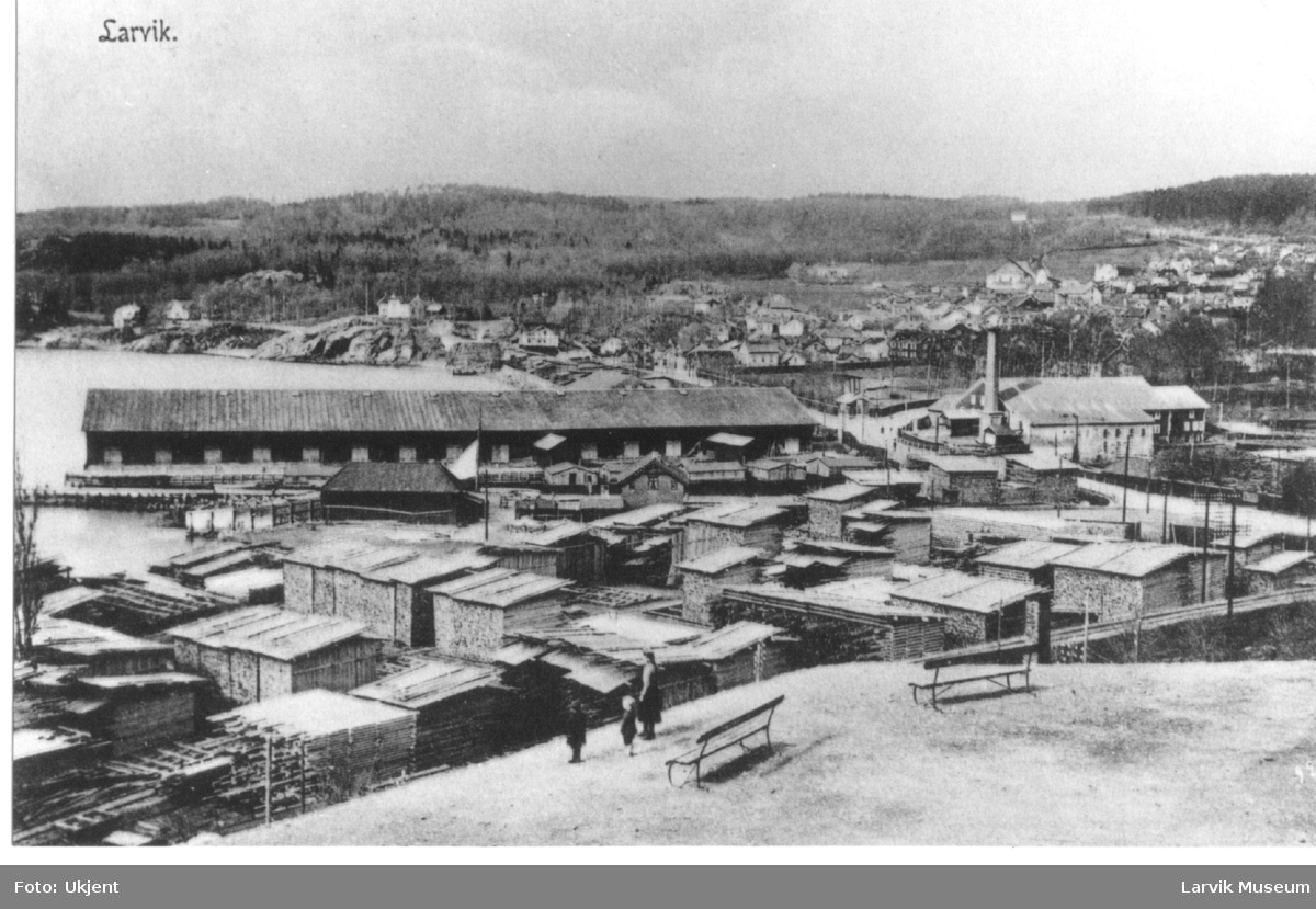fabrikk, trelast, Treschow