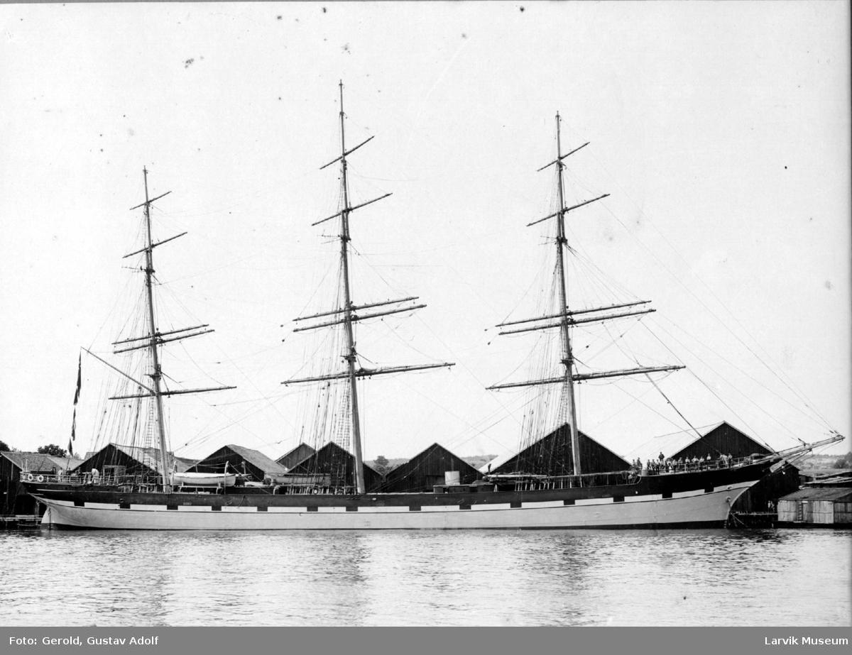 "Fullrigger, seilskip, ""Forth"" av Sandefjord"