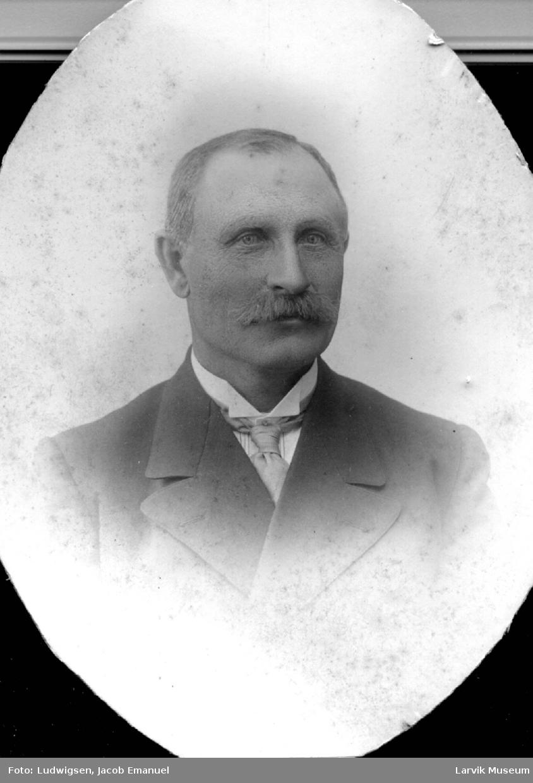 portrett, mann, hvalfangstbestyrer Thv. Andersen