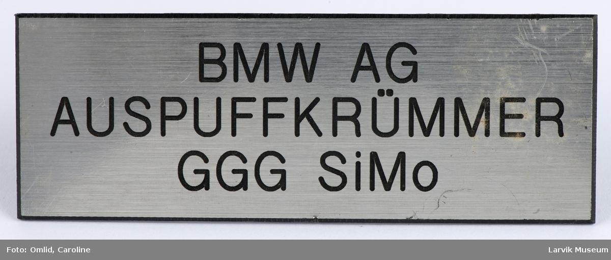 BMW AG Auspuffkrûmmer GGG SiMo
