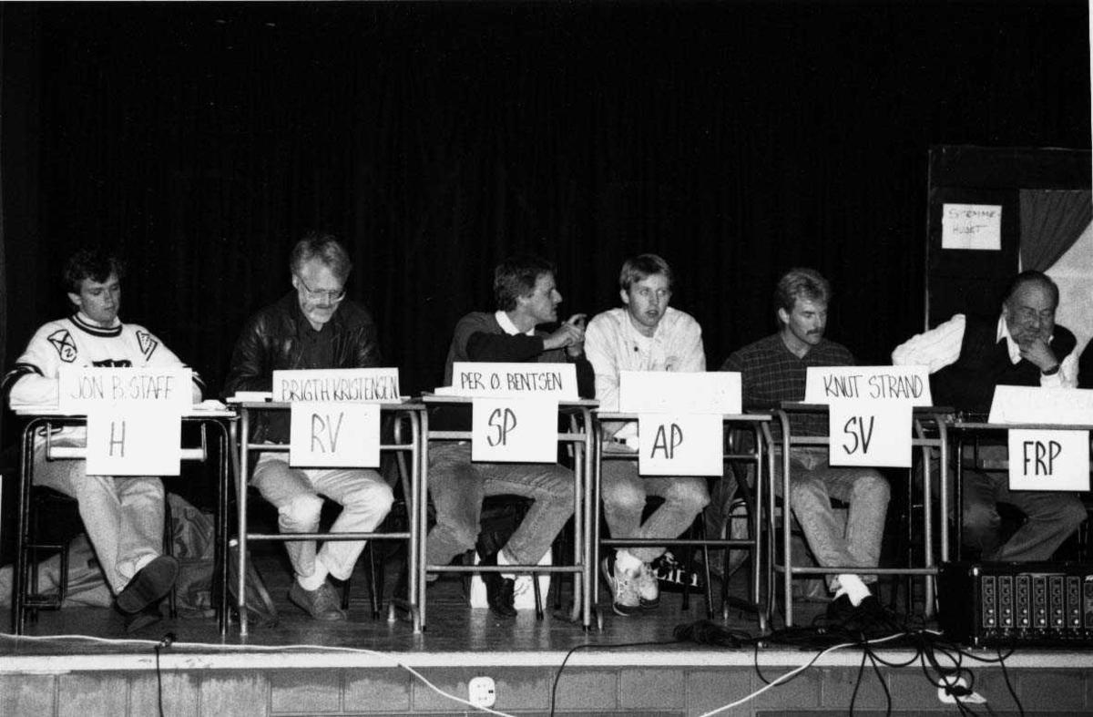 Gruppe.  Valg 1991 politikere.
