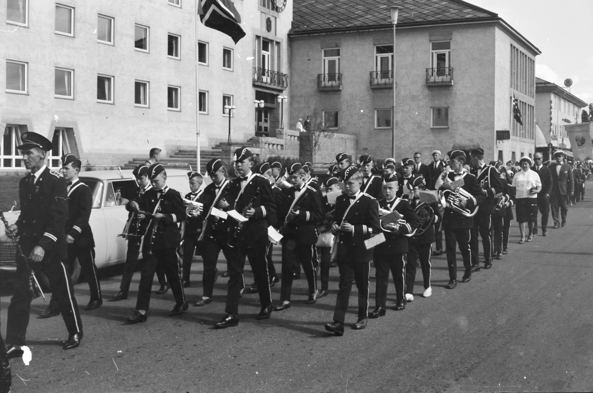 Sangens og musikkens dag. Elverum. Rundt 1950.