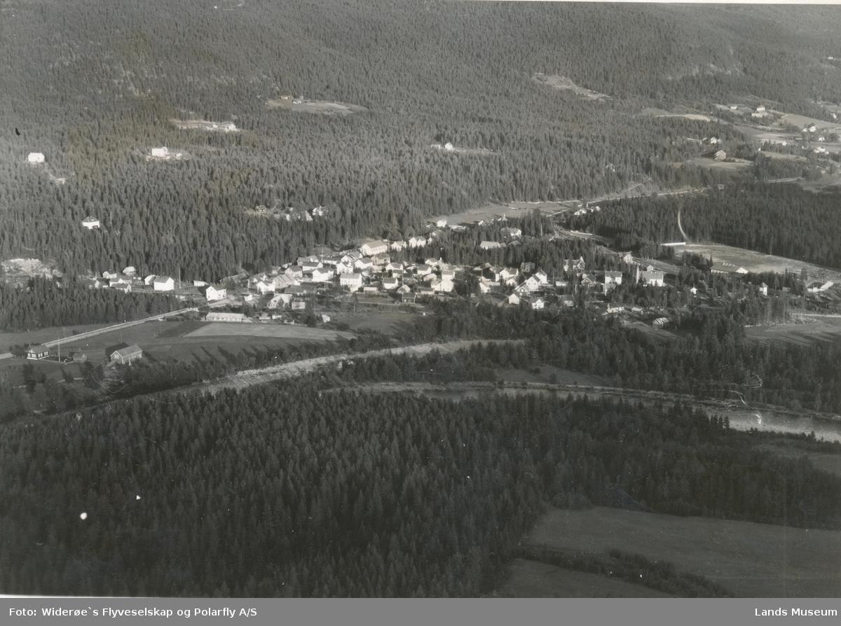 Flyfoto Dokka, oversiktsbilde