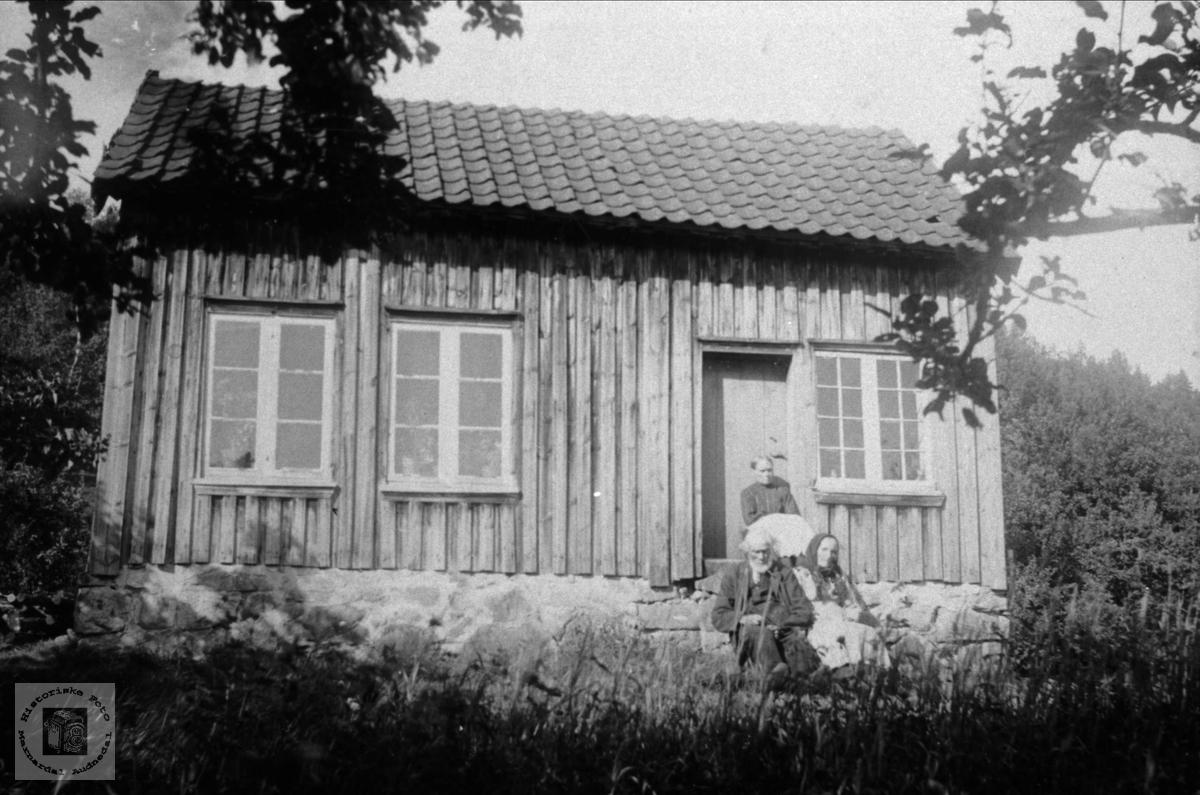 Husmannsplassen Øvre Hærås, Sveinall.